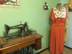 Depression Era Dress Replica and Study Tracy McElfresh