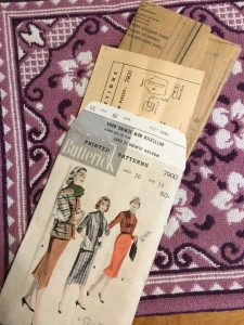 Butterwick 7900 Skirt and Jacket 1950s Vintage Pattern