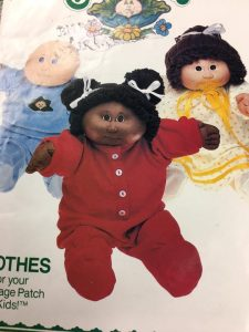 Butterwick 6502 Clothes for Cabbage Patch Kids 1980s Vintage Pattern