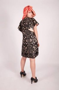 Day of the Dead Flapper Dress