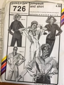 Set of 5 1980s Stretch and Sew Patterns Factory Folded
