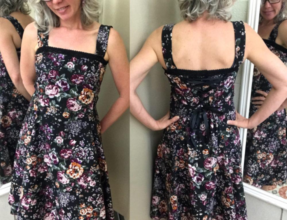 Easy Viking Apron Dress