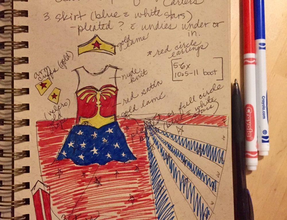 Lynda Carter Costume Design
