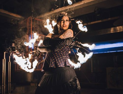 Fire Dancing Performance Wear with Astrea Taylor