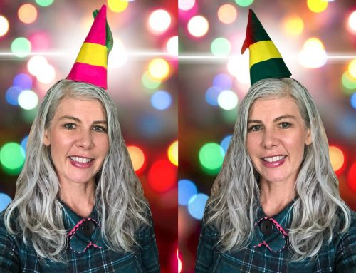 Free Elf Party Hat PDF Pattern and Instructions